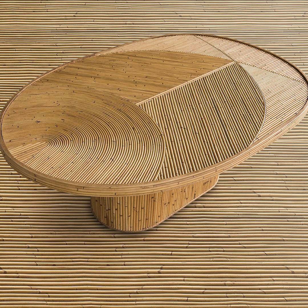 Rattan Love Table By India Mahdavi Flodeau Com Furniture