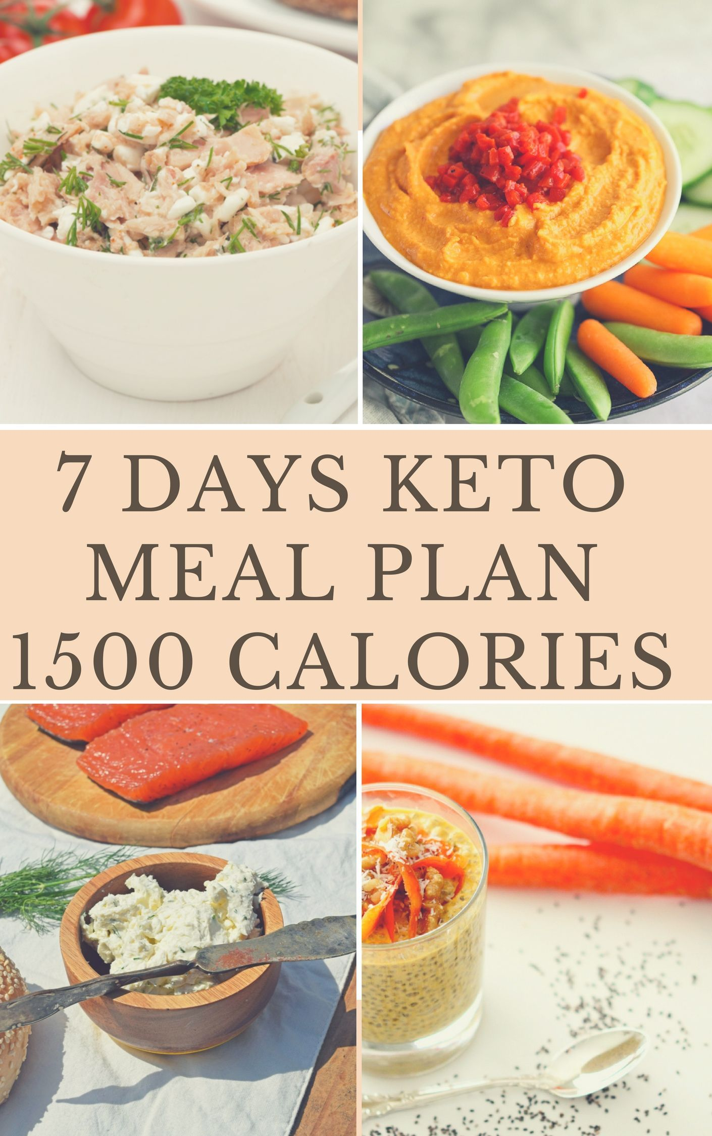 1500 calorie keto diet menu