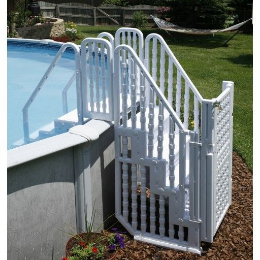 Beautiful Easy Pool Step Entry System