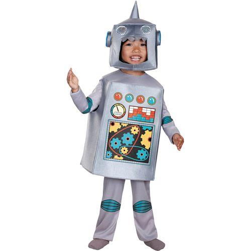 Halloween ideas  sc 1 st  Pinterest & Retro Robot Toddler Halloween Costume - Walmart.com   Things I want ...