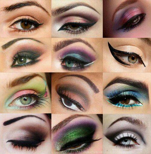 how to put eyeshadow in corner of eye