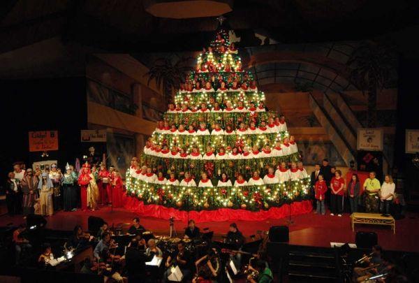 Singing Christmas Tree Muskegon 2021 Singing Christmas Tree Returns To Martinez Church Singing Christmas Tree Live Christmas Trees Christmas Tree