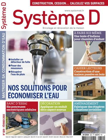 Système D No829 - Février 2015 Woodworking Pinterest Woodworking - renovation maison soi meme