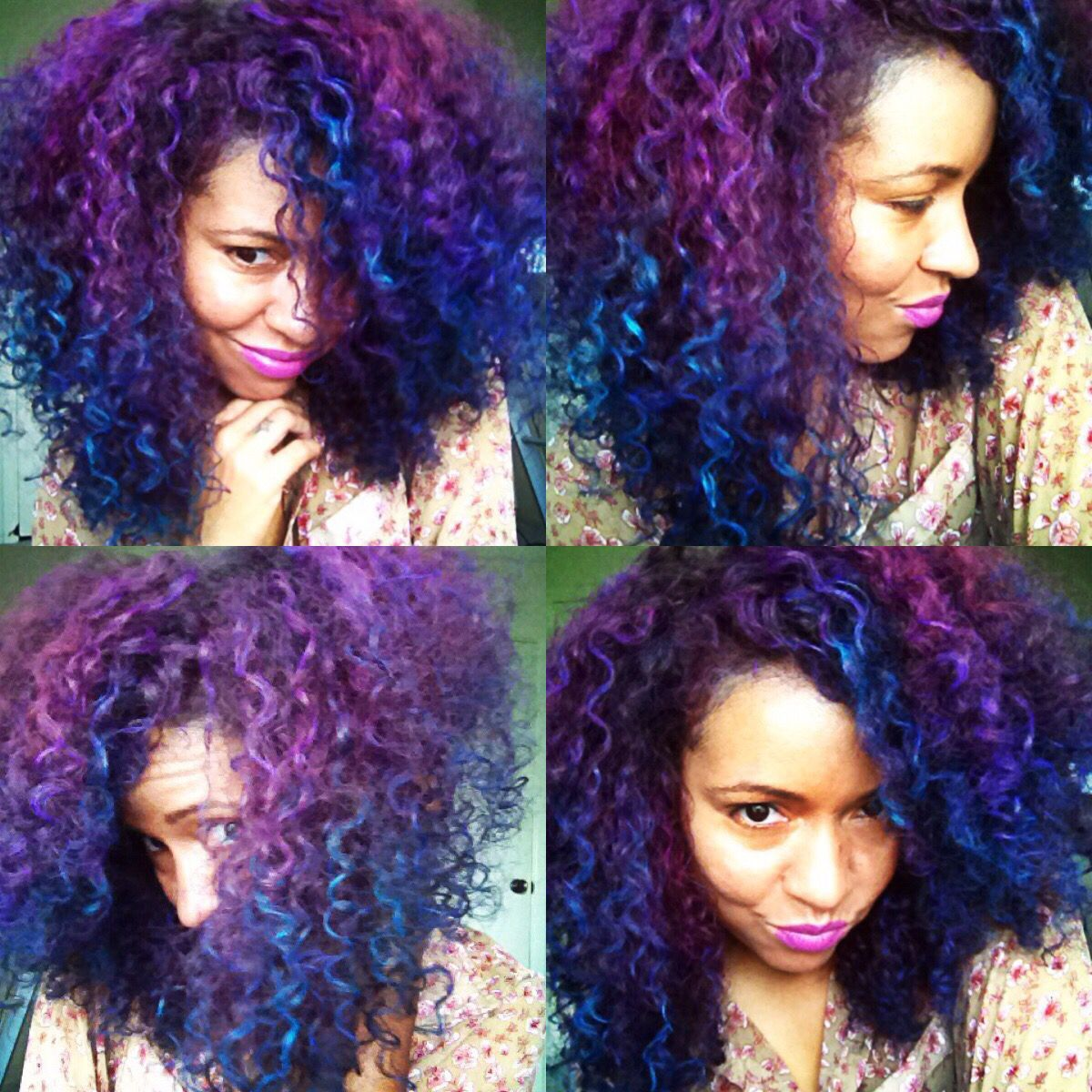 Pin By Lexy Mckoy On Mixed Girls Dyed Hair Hair Dye Tutorial Splat Hair Dye Natural Hair Styles