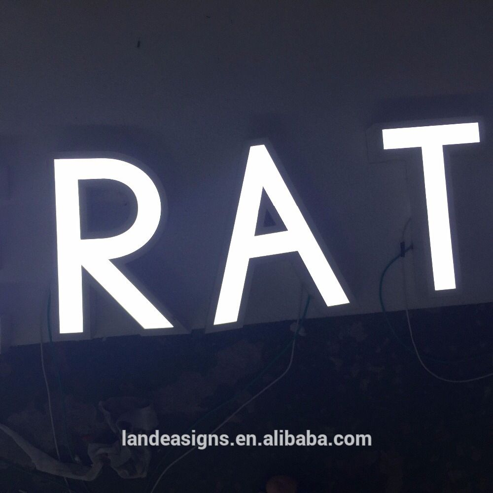 check out this product on alibabacom app outdoor led logo 3d acrylic channel letter