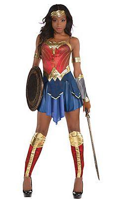 Adult Wonder Woman Costume - Wonder Woman Movie   Halloween ...