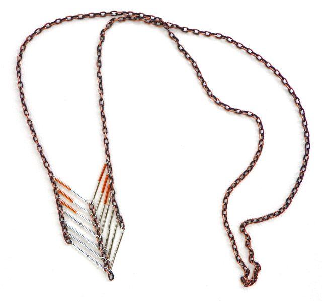 Erin Siegel Jewelry  Mixed Metal Chevron Necklace TUTORIAL  679bf04b1c