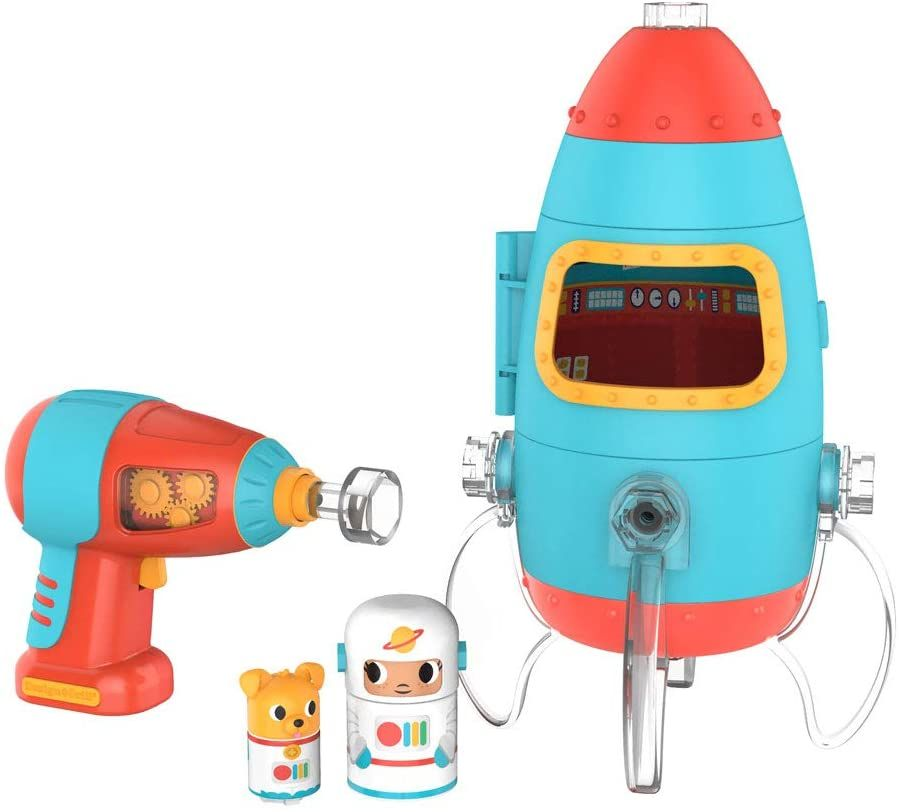 Educational Insights Design & Drill Bolt Buddies Rocket