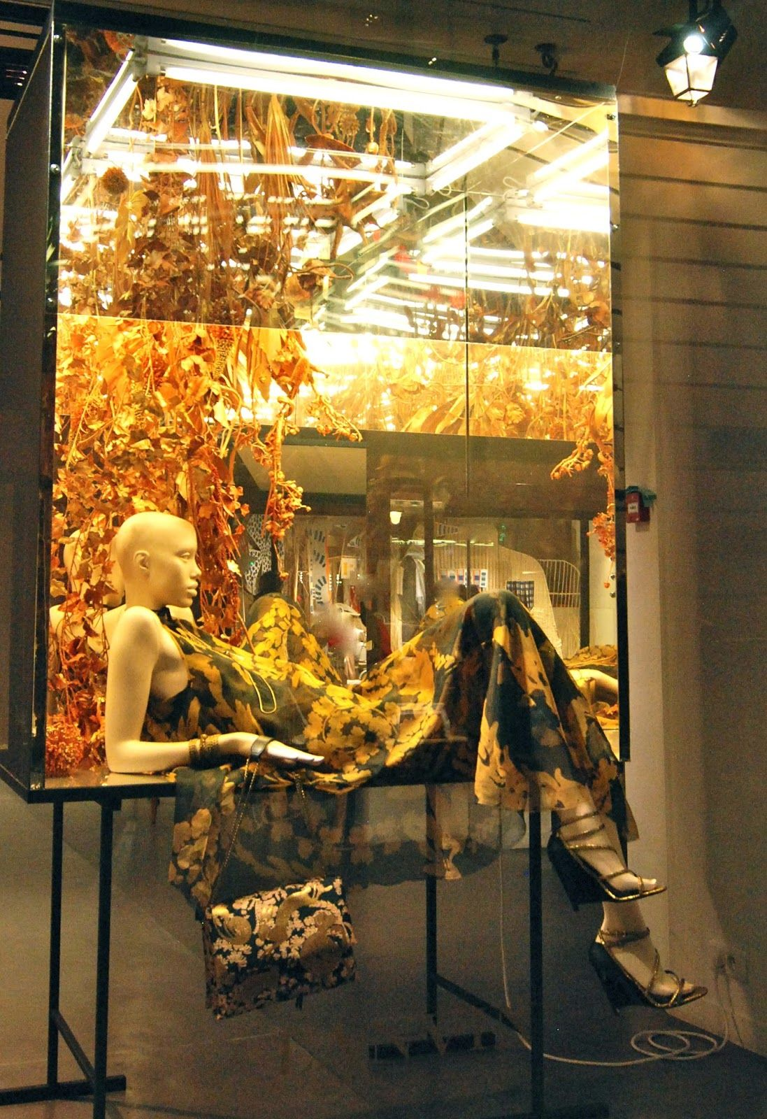 """LANVIN,Paris,France, """"Upright display cabinets are ideal for preserving and displaying any types of specimen"""", photo by MesVitrines, pinned by Ton van der Veer"""