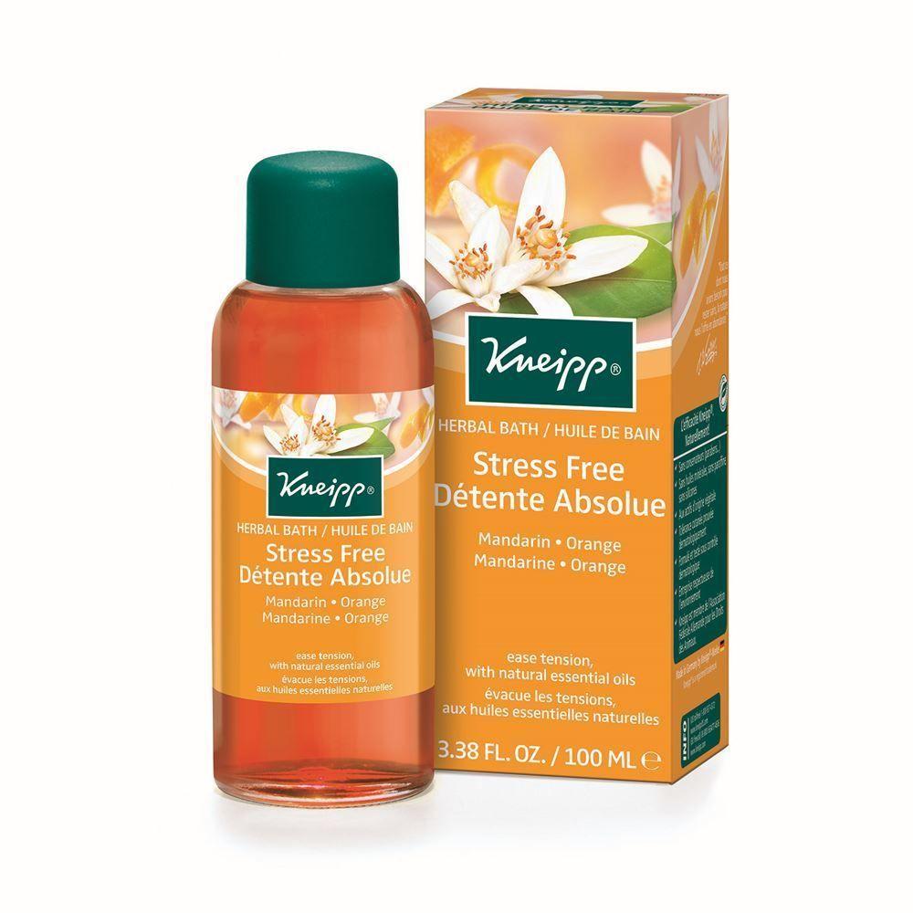 New Product Now Available Kneipp Mandarin Orange Stress Free Herbal Bath Oil 100ml Bath Oils Herbal Bath Citrus Essential Oil