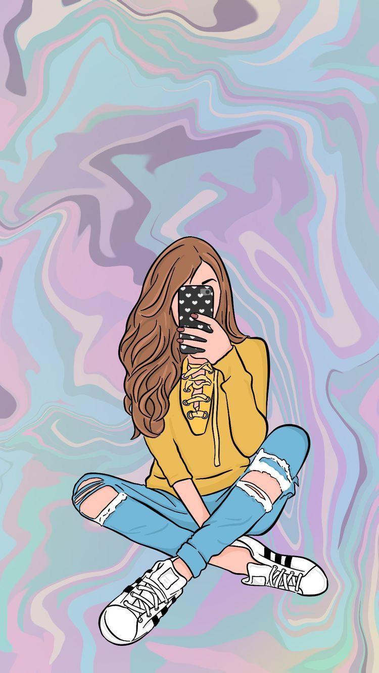 бесстрашное картинки для телефона девчачие клейкой