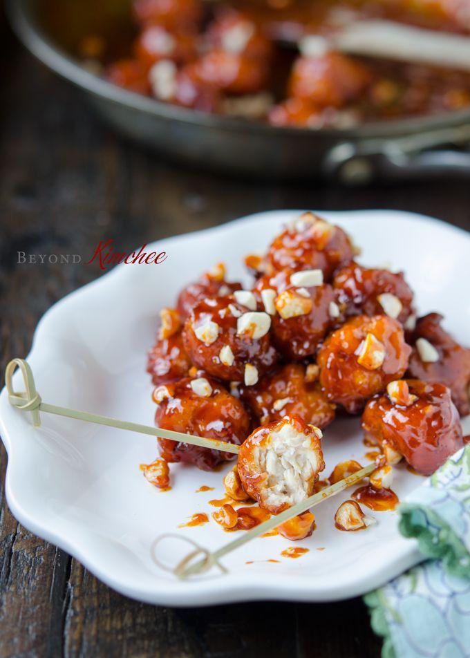how to make crispy korean chicken nuggets dak gangjeong e e i