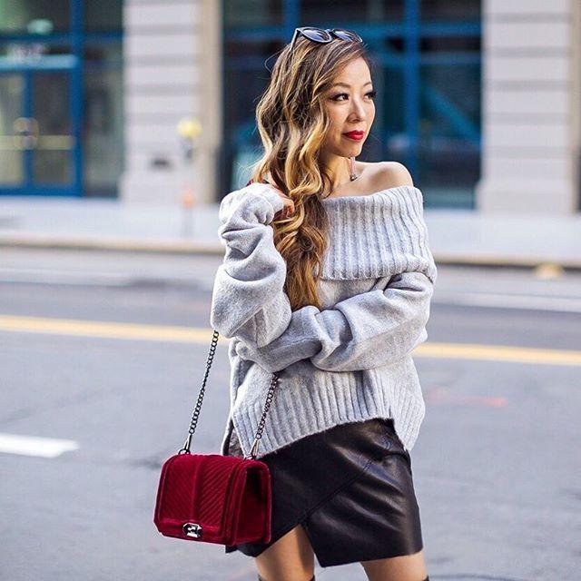 Velvet Love Crossboday | Rebecca Minkoff | Street Style | @shallwesasa