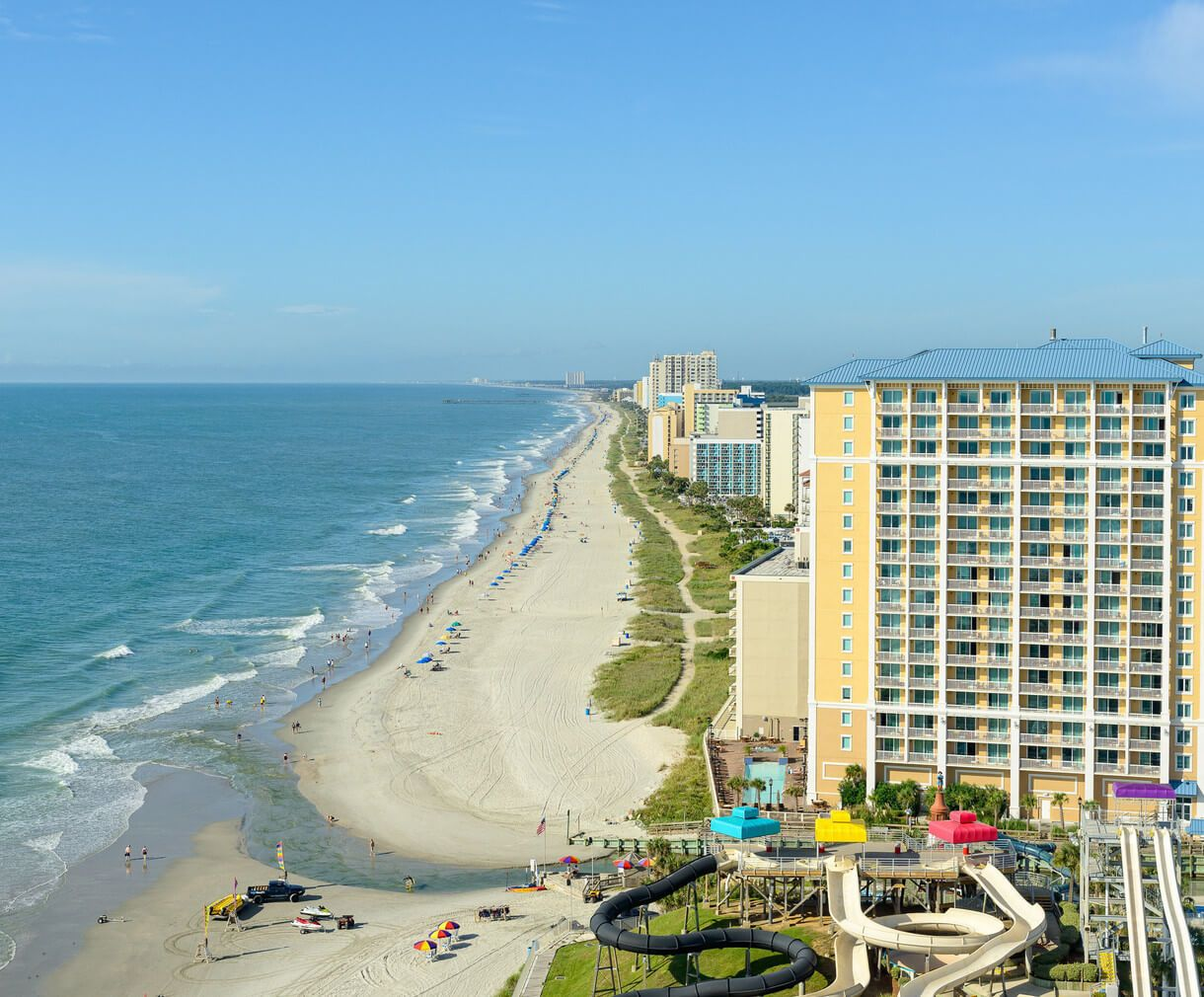 Beachfront resort adjacent to Family Kingdom Amusement