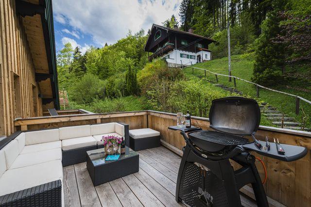 Ferienwohnung Bad Wiessee mit Kamin für bis zu 4 Personen