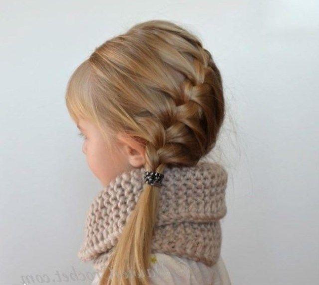 Idée coiffure fille https//tendancescoiffure.eu