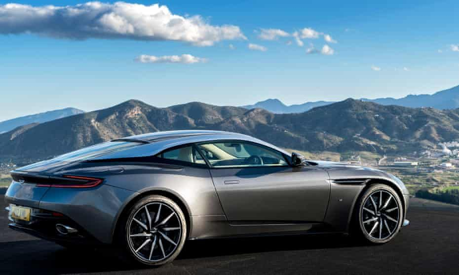 Aston Martin shares plunge after slump in sales across
