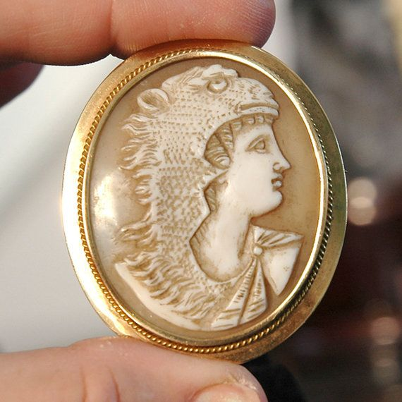 Hey, I found this really awesome Etsy listing at https://www.etsy.com/listing/171888418/rare-c1895-shell-cameo-hercules-and-the