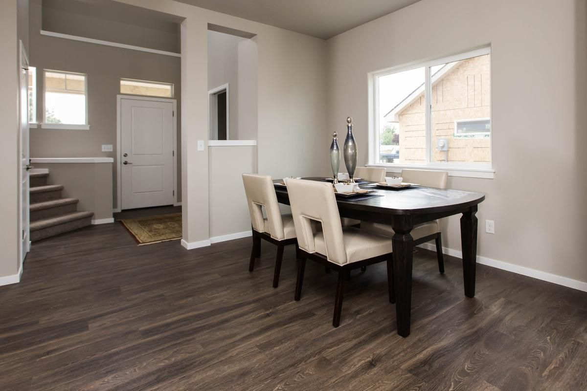 Dining Room Flooring Winslow Dining Room Featuring The Beautiful And Durable Lvp