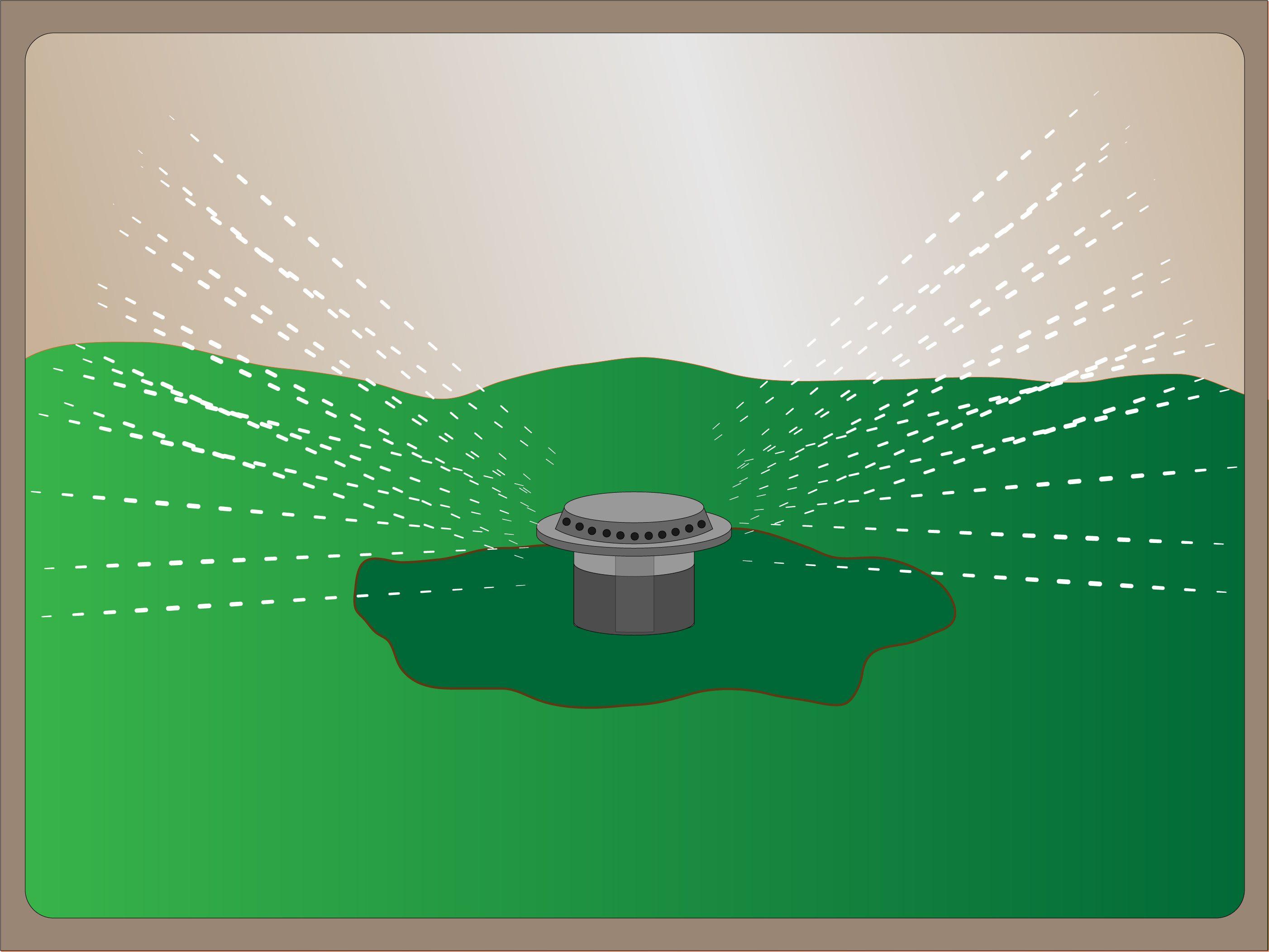 How To Repair A Pop Up Sprinkler Head Sprinkler Heads Pop Up