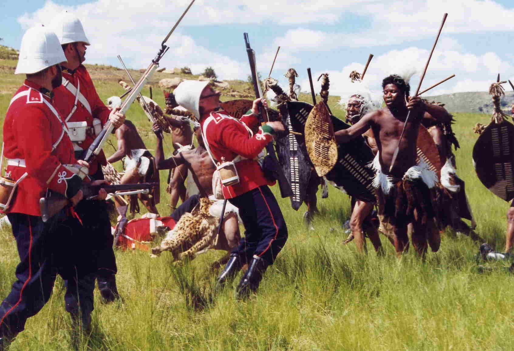 zulu wars General information war documentary hosted by graham mctavish, published by uktv in 2002 - english narration cover information this series explores the facts and.