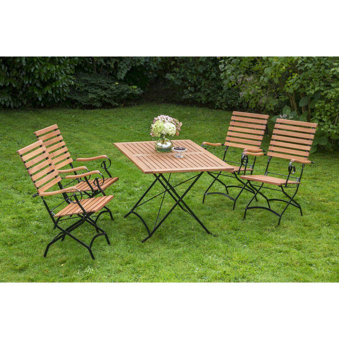 4 Sitzer Gartengarnitur Collinward In 2021 Holz Garten Gartenmobel
