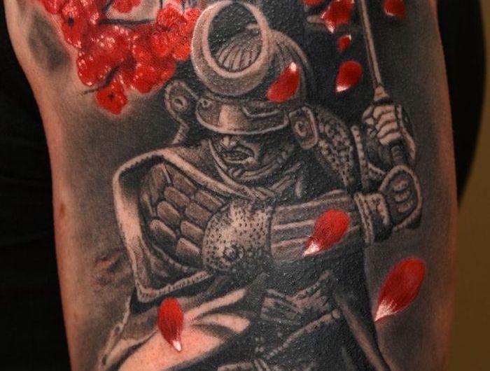 tatouage samourai le tattoo des guerriers eric tattoo pinterest tattoos japan tattoo et. Black Bedroom Furniture Sets. Home Design Ideas