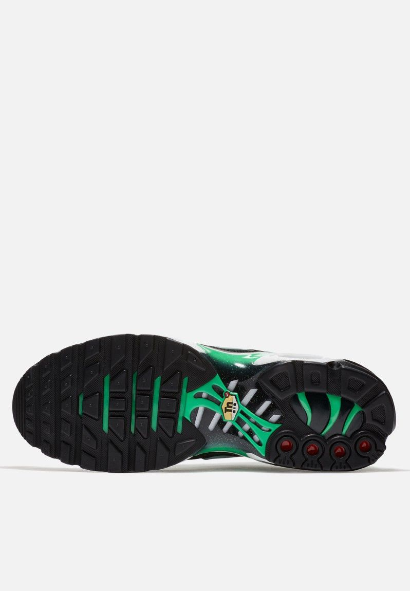27f15a1f9872 Nike Air Max Plus - 852630-009 - Black   White   Electro Green Nike  Sneakers
