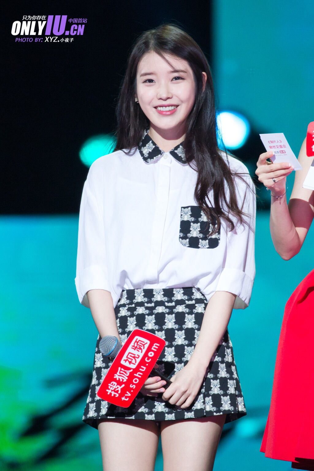 IU at Fan Meeting in Shanghai China