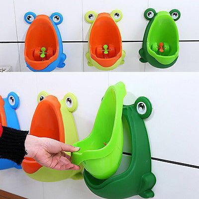 What A Fun And Easy To Clean Way Of Potty Training Your Little Man Even Has A Spinning Wheel For Target Kids Potty Toddler Potty Training Baby Toilet Training