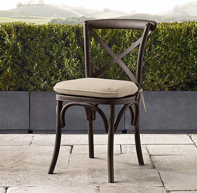 Etonnant Madeleine Metal Chair Cushions