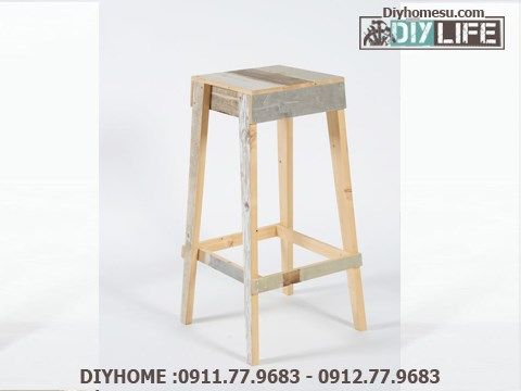 Luxury Rustic Look Bar Stools