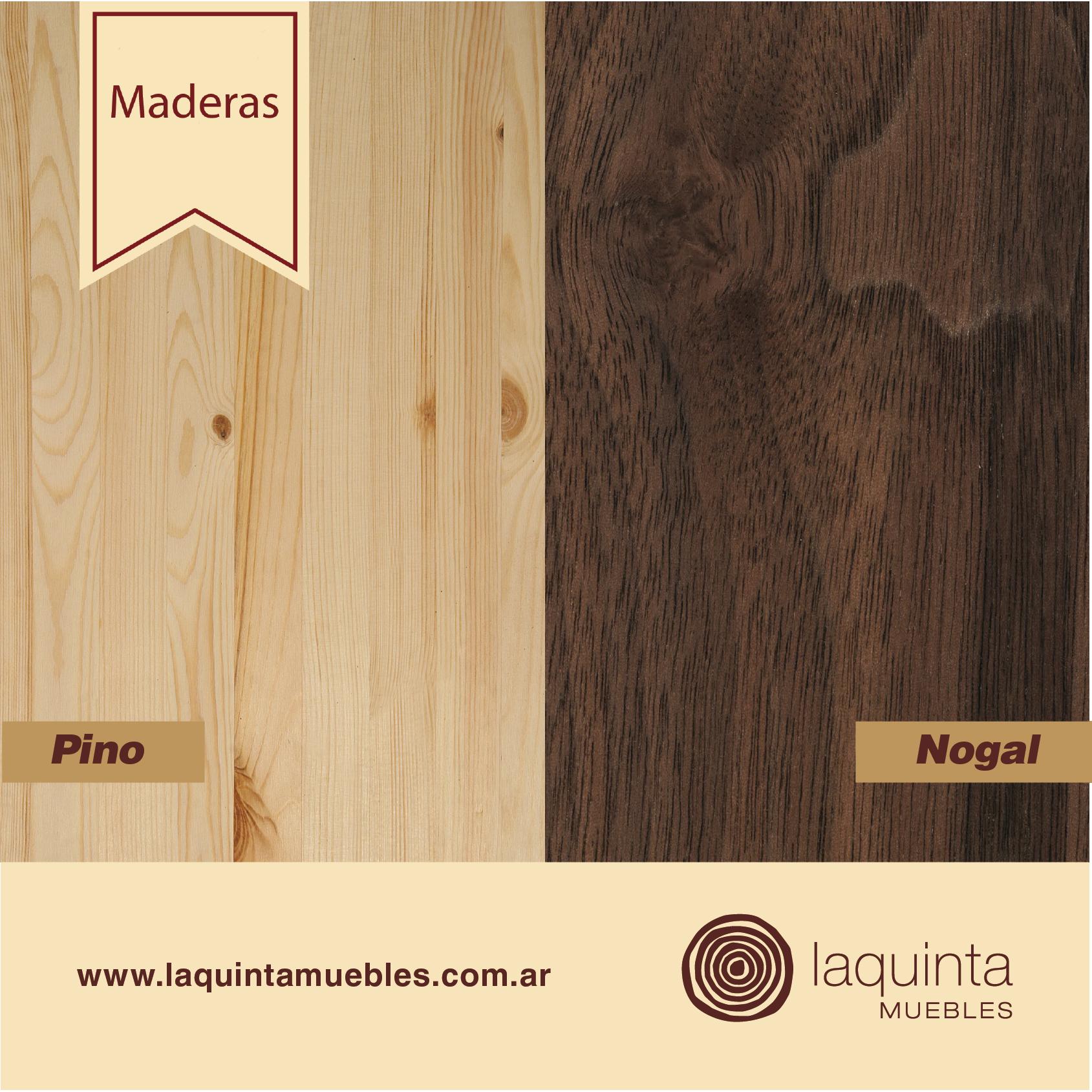 Sab as que hay dos tipos de maderas las maderas blandas - Color nogal en madera ...