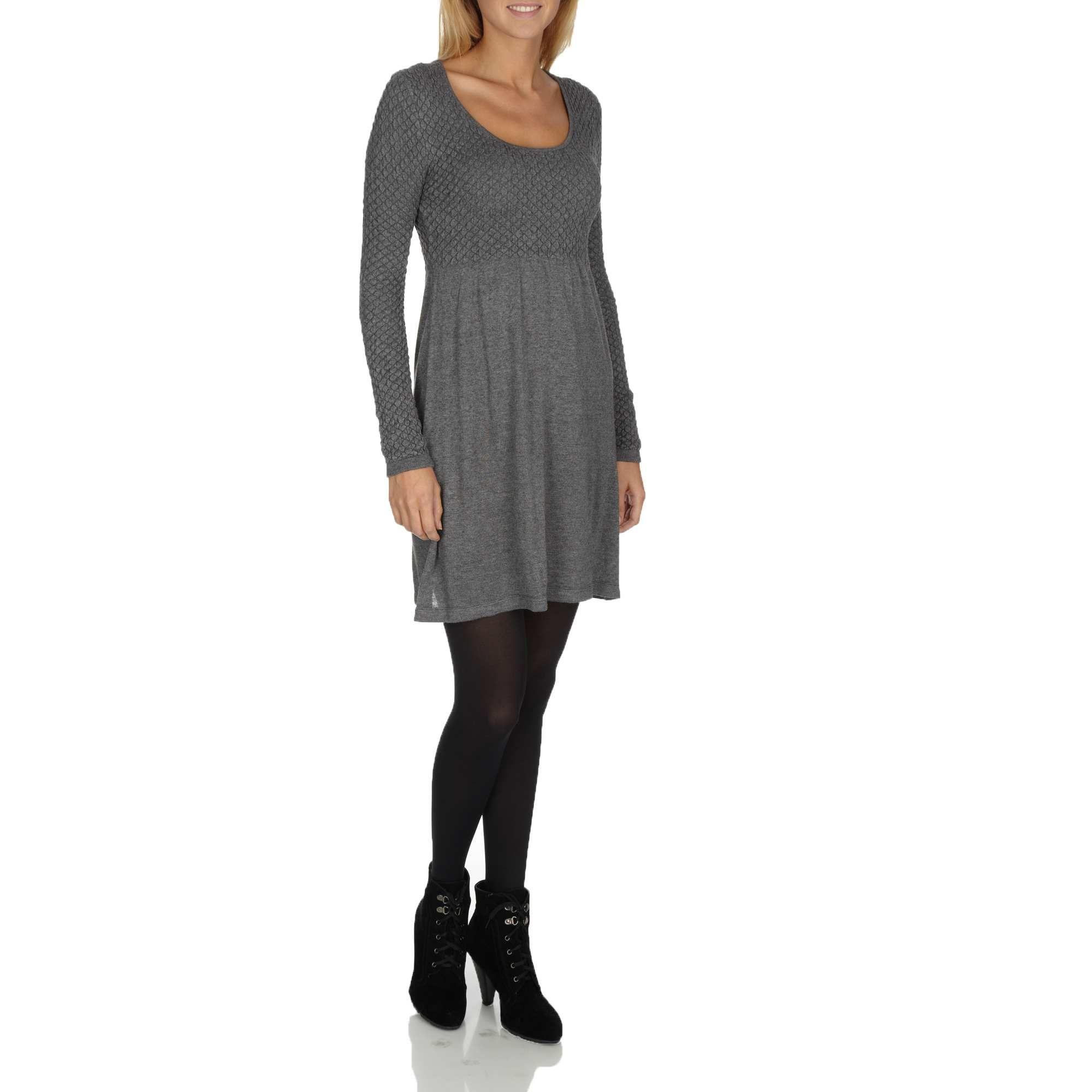 25285019e3a Vestido tipo jersey de punto ligero Kiabi. Vestido tipo jersey de punto  ligero Kiabi Ropa Online Mujer ...