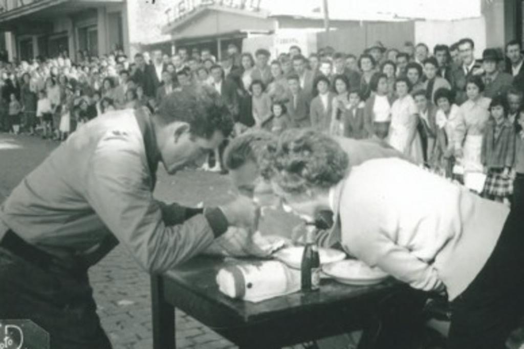 Memória: uma gincana de lambretas em 1959 - Cidades - Pioneiro