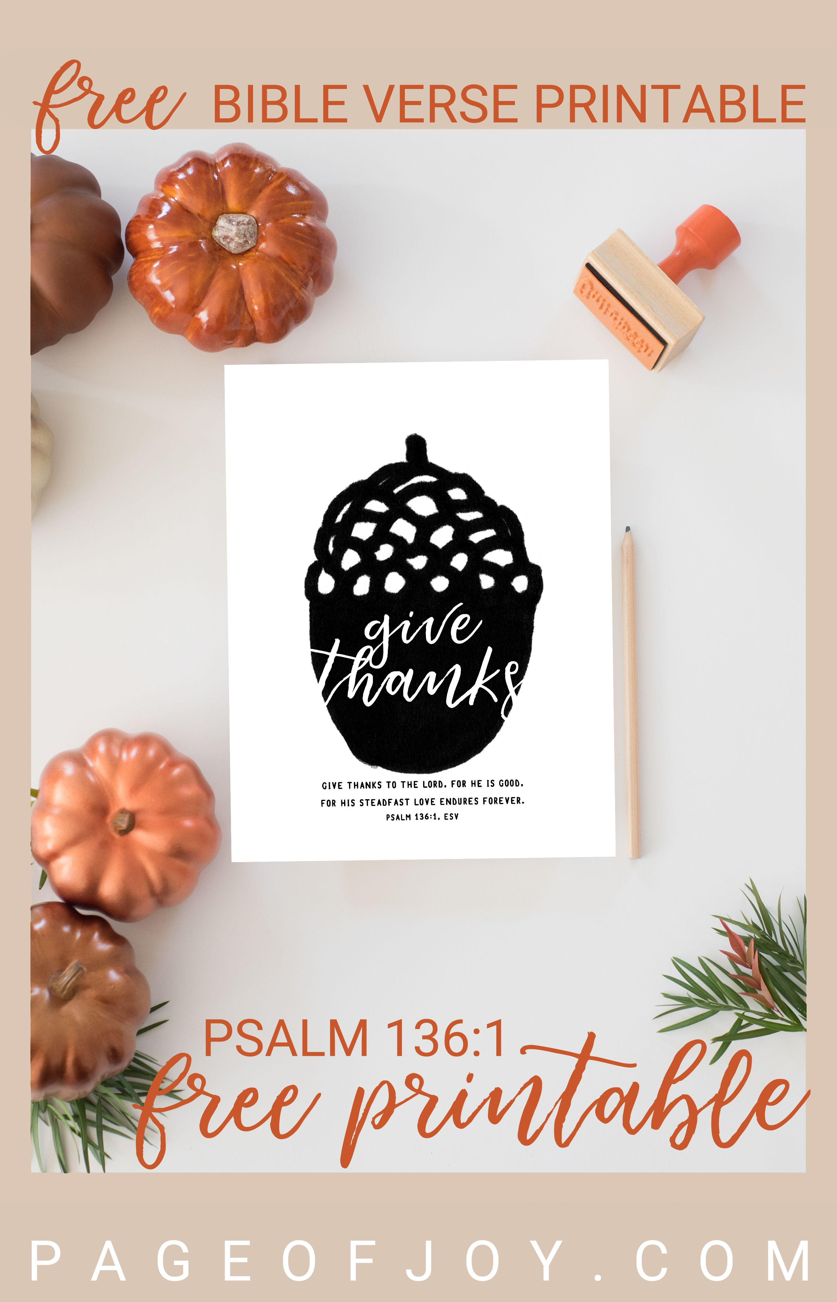 Perfect For Fall And Thanksgiving This Christian Bible Verse