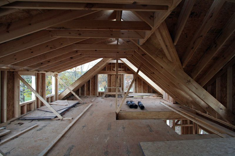 Attic House dormers on houses |  when this was the attic of the old house