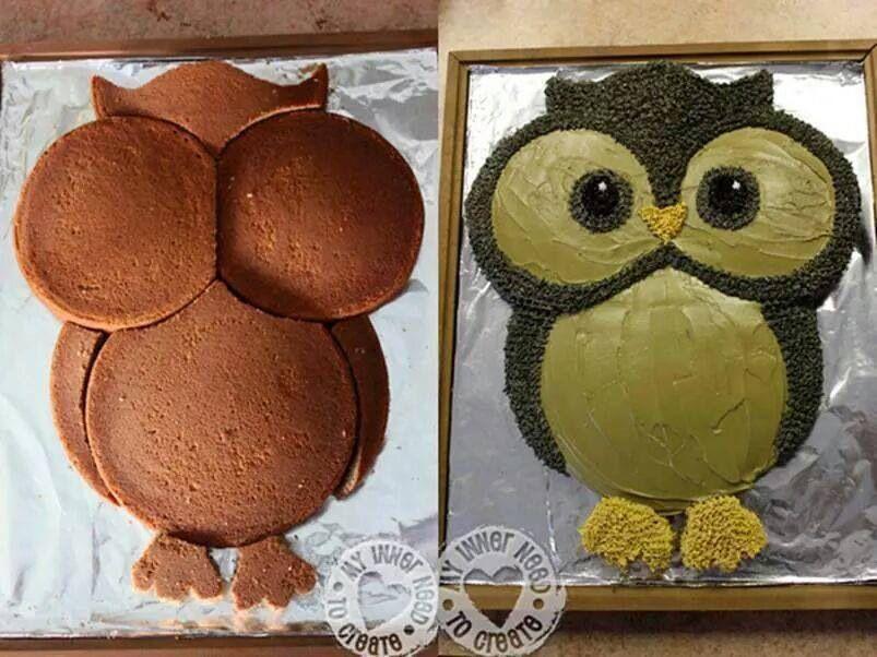 Eulenkuchen Desserts Pinterest Owl Cakes Cake And Cupcakes