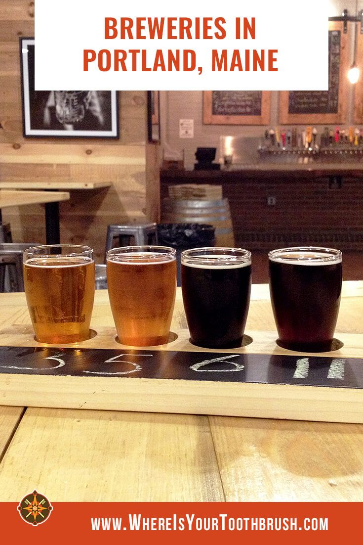 The Beer Lover S Guide To Breweries In Portland Maine Portland