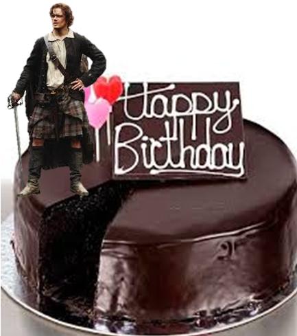 Watch Happy Birthday From Sam Heughan And Outlander TV News Sam Heughan Cake Birthday