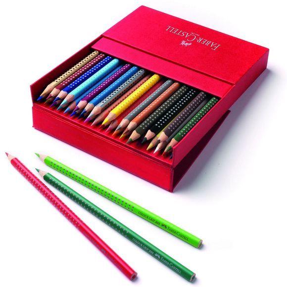 Kjøp Faber-Castell - Grip 2001 Akvarell fargestifter i Studio Box, 36 stk - Kreativt leketøy - Fri frakt