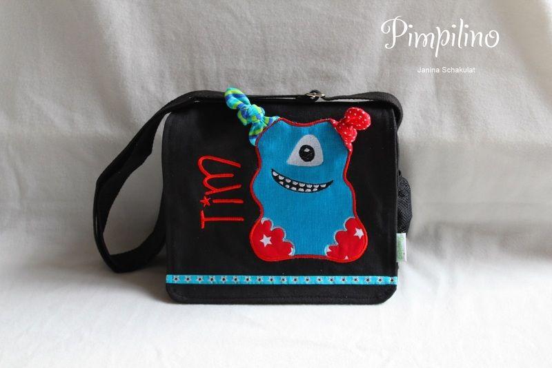 Kindergartentasche Monster von Pimpilino auf DaWanda.com