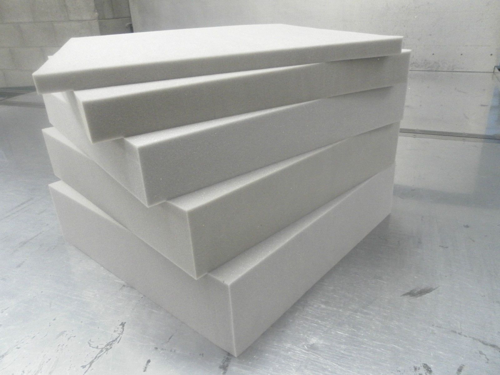 Upholstery Foam Cut To Any Size Foam Cushions Seat Pads High
