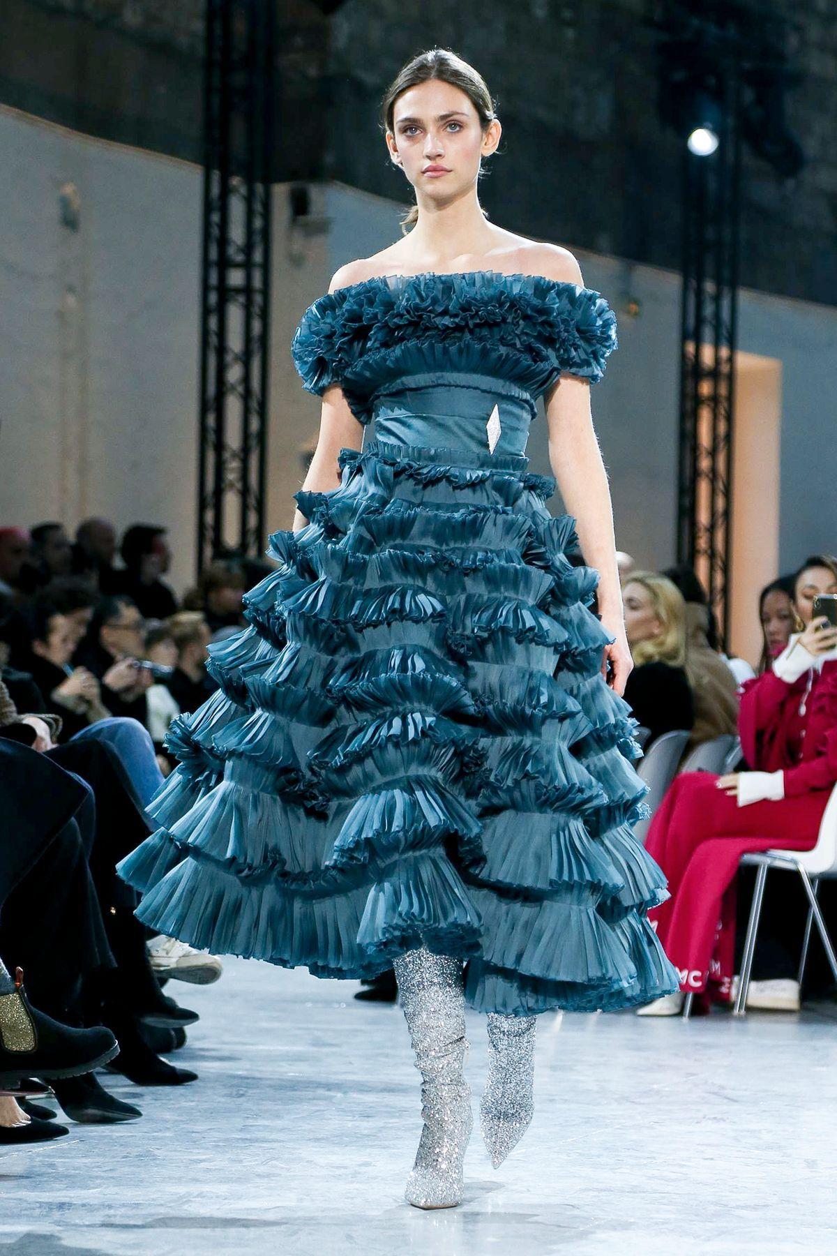 Photo of Alexandre Vauthier Haute Couture Vårsommer 2020 Paris
