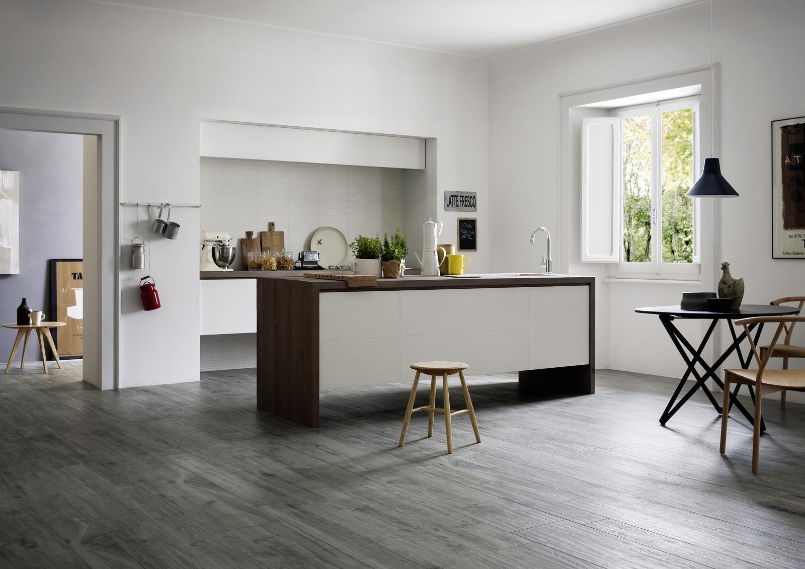 Disegno piastrelle effetto legno cucina : Piastrelle Cucina: idee e soluzioni in ceramica e gres - Marazzi ...