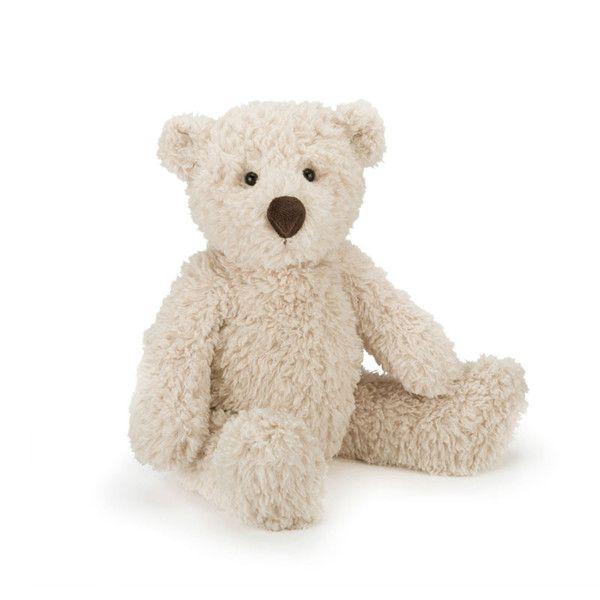 """Her er barnets """"nye bedste ven"""". Super blød bjørnebamse fra Jellycat med et kært og betuttet udtryk. Bestil direkte. Nemt at handle - gratis gaveindpakning."""