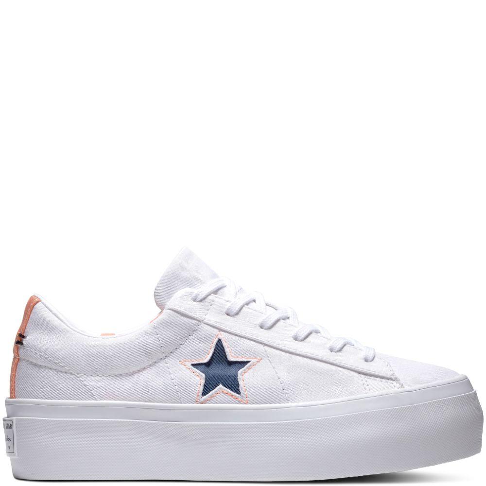 281640c28a5d One Star Platform Whites   Brights White Crimson Pulse Navy white crimson  pulse navy