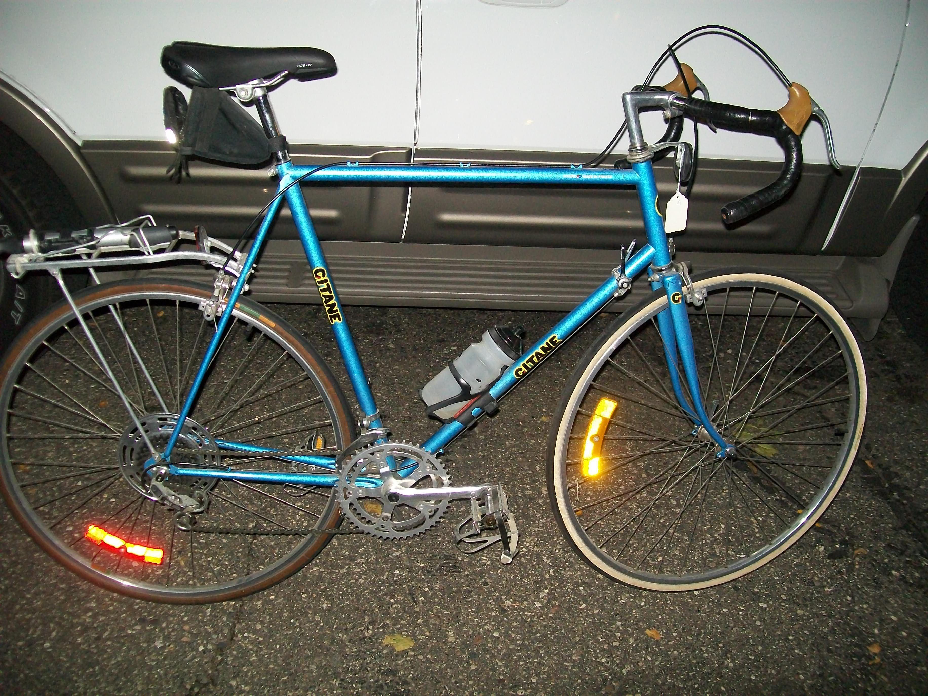 Depuis La France La Gitane Vive La Bicyclette Vintage