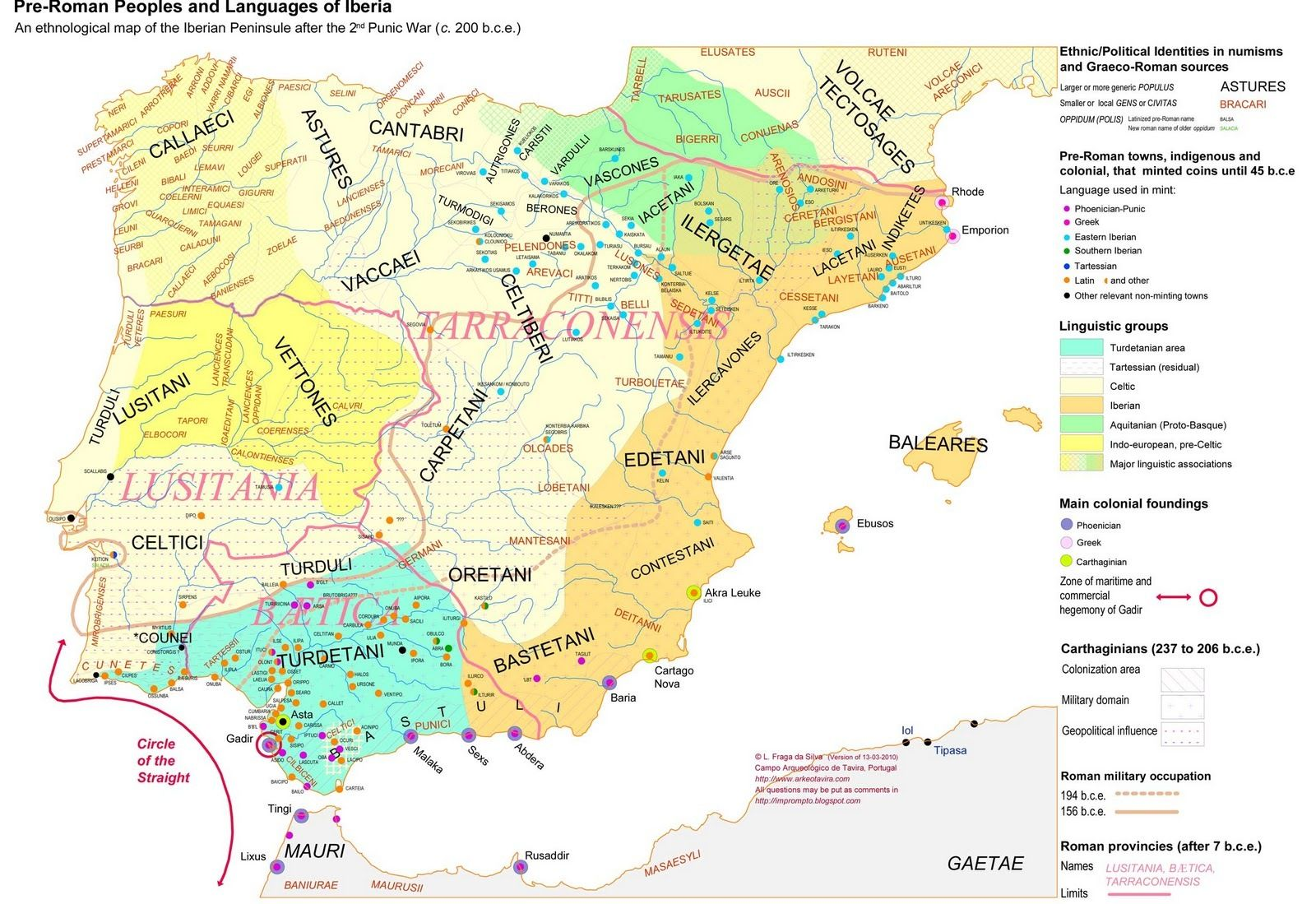 Pre Roman Peoples and Languages of Iberia ca 200 BCE