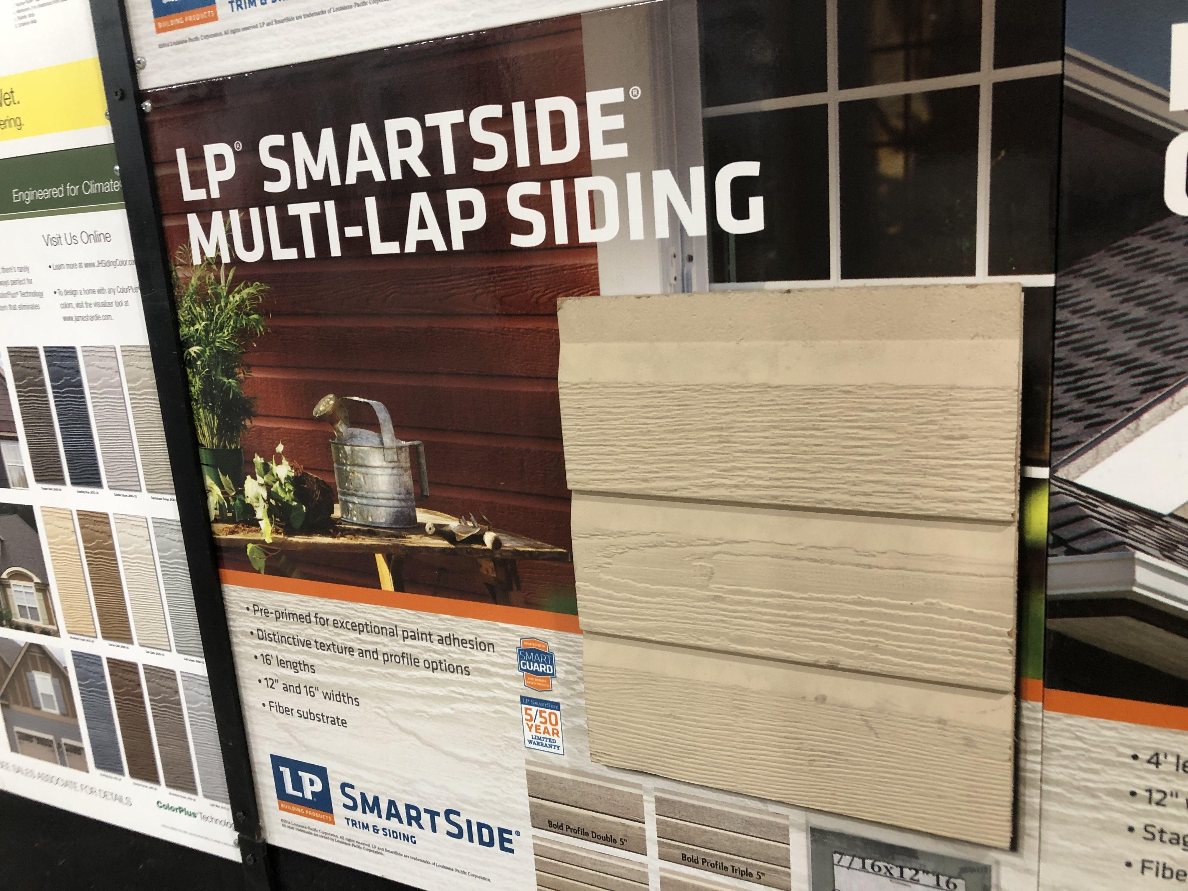 Lp Smart Siding 12 Triple Multi Lap Panel Siding Solar Panel Installation Polycarbonate Roof Panels